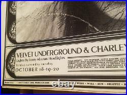 Velvet Underground Initial Shock 68 Avalon Ball Family Dog Concert Poster Fd-142