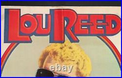 Vintage 1974ltd Printing Lou Reedsally Can't Dancepromo Concert Tour Poster