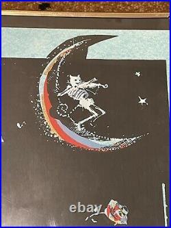 Vintage Grateful Dead Earl Newman Original Rock Concert Poster Sf Rare