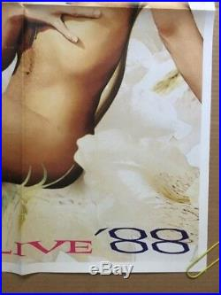 Vintage Poster Prince Naked Love Sexy Live 88 Promo Pin-up 1980s Music Concert