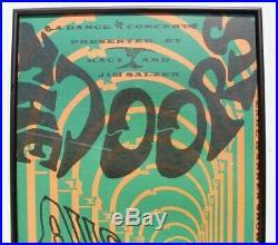 Vtg Earl Warren Showground Concert Poster 2nd 1967 The Doors Joint Effort