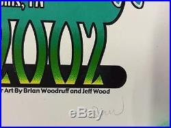 Widespread Panic Fall Tour 2002 Original Concert Poster Wsp Jeff Wood