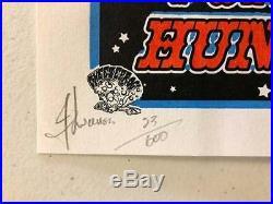 Widespread Panic Huntsville Al 1999 Original Concert Poster Wsp Lucchesi