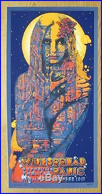 Widespread Panic Wsp Memphis 2014 Concert Poster Welker Silkscreen Original