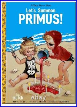 Zoltron Lets Summon Primus Concert Poster August 17th 2017 Berkeley
