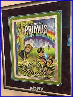 Zoltron Lets Trip Primus Concert Poster New Years Eve 2017